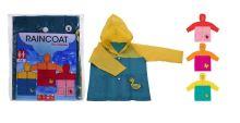 Pláštěnka dětská PVC pro dívky, barvy mix