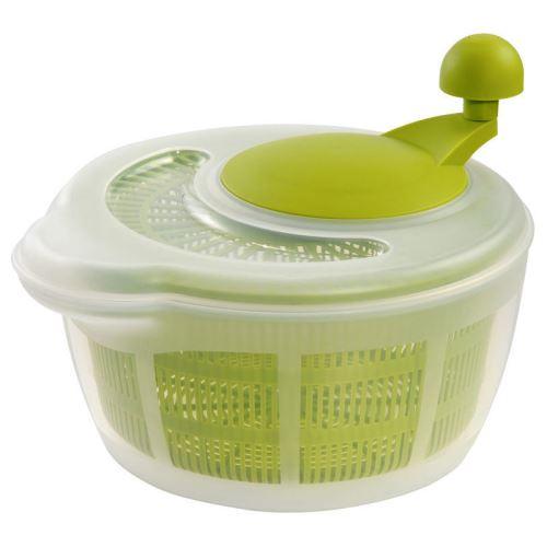 WESTMARK Odstředivka na salát FORTUNA, zelená s transparentním víkem_0