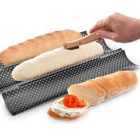 ORION Nůž k nařezávání chleba dřevo/plast+5 ks žiletek_0
