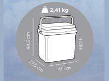 GIO STYLE Termo box BRAVO 32, 33,5 l_2