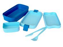 CURVER Box na svačinu LUNCH & GO, 23 x 13 x 6,5 cm, modrý