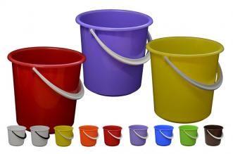 INJETON plast Vědro 12 l, barvy mix