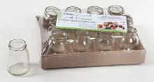DOMINO Zavařovací sklenice JOGURT 215 ml, twist 53, 1ks