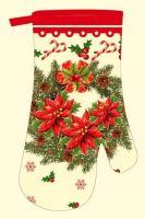 DURATEX Kuchyňská chňapka F9226, 28 cm, bavlna, magnet, poutko, vánoční