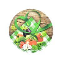 IR THERMIC Zavařovací víčko Twist 66, 1ks, zelenina venkov