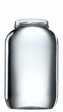 VETROPACK Zavařovací sklenice 3720 ml, šroubovací twist 100