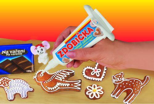 REPROPLAST Zdobička pro zdobení perníků a vánočního cukroví