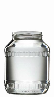 VETROPACK Zavařovací sklenice 1700 ml FACETA, šroubovací twist 89