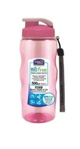 LOCK & LOCK Sportovní lahev 500 ml, růžová