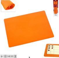 ORION Vál silikonový na těsto 40 x 30 x 0,1 cm, oranžový