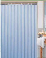 DURAMAT Koupelnový závěs jednobarevný 180 x 200 cm, vinyl, modrý