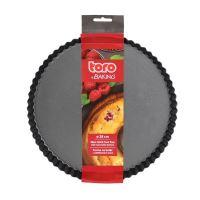 TORO Forma na koláč ø 28 cm s vlnitým okrajem a odnímatelným dnem