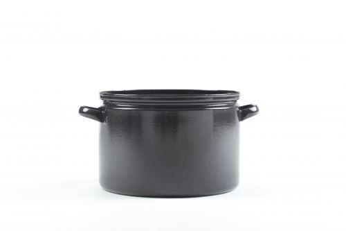 BELIS Hrnec GASTRO SFINX o 40 cm, 30 l, černý