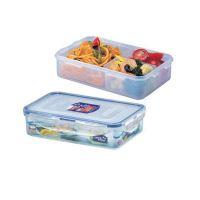 LOCK & LOCK Dóza na potraviny 800 ml, 20,5 x 13,4 x 5,2 cm s přihrádkami, HPL816C