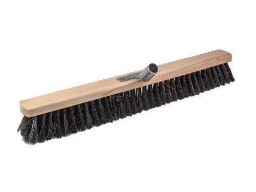 KARTÁČOVNY Smeták sálový 60 cm na hůl, s kováním, vlákno směs