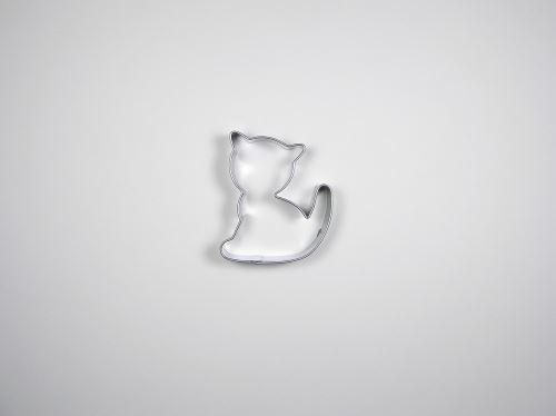 JANDEJSEK Vykrajovátko kočka 52 x 43 mm