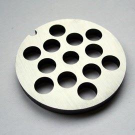 PORKERT Řezná deska hrubost 10 mm, určená pro mlýnek na maso vel. č. 8