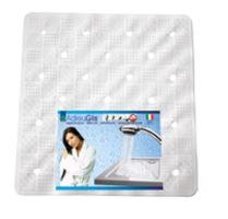 Podložka protiskluzová do sprchy 54,5 x 54,5 cm, bílá