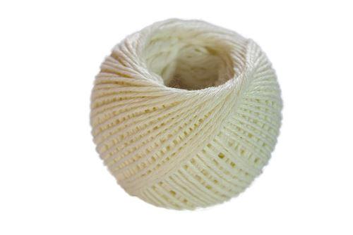 LINECON Motouz na potraviny 50 g, lněný bílý
