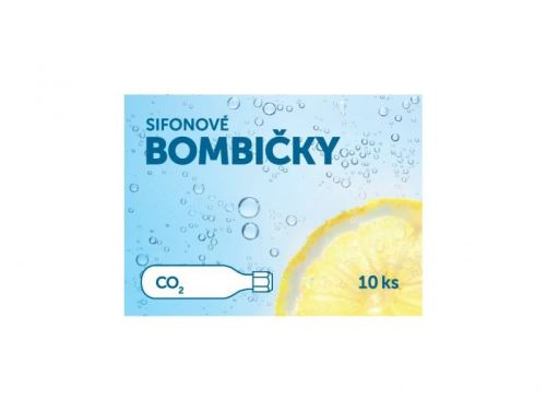 SIFOS Sifonové bombičky - náplň CO2, výměna bombičky 10ks, sifonová lahev
